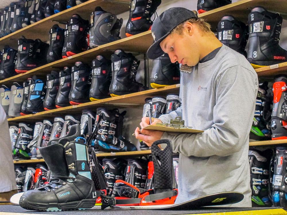 ski and snowboard repairs